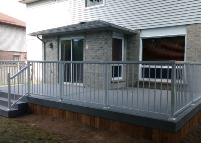 Composite Trex Deck Burlington (1)