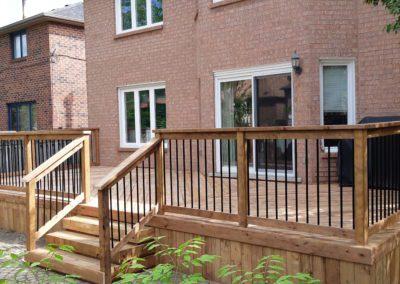 Custom Wood Deck Burlington (2)