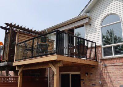 Custom Wood Deck Burlington (6)