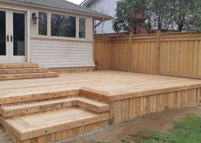 Custom Wood Deck Burlington (7)