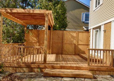 Custom Wood Deck Mississauga (6)